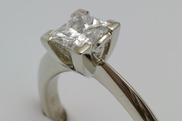 WEB-Weddings-Engagement-18k White Gold-Princess Cut Diamond-Celtic Triangle-2011-Image 3739.jpg