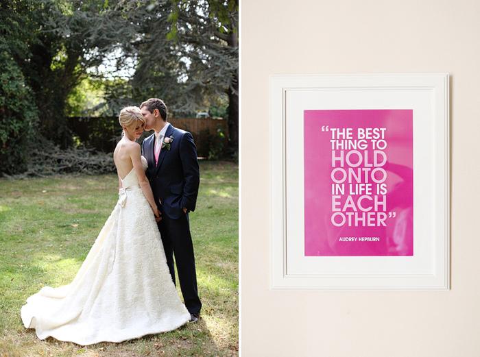 Manor House School wedding photographer Dasha Caffrey