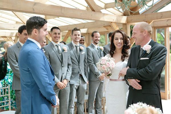 Essex wedding in gaynes Park