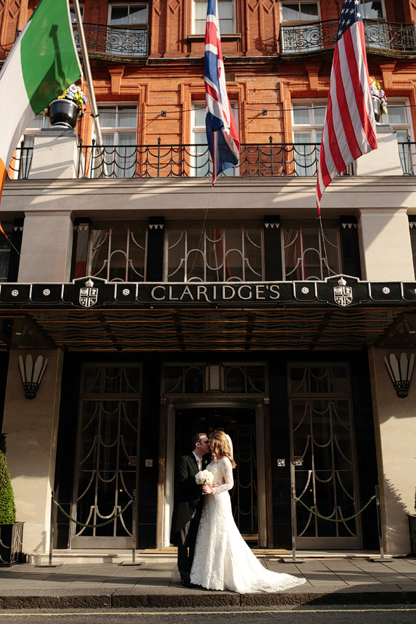Claridge's Hotel wedding photographer (2)