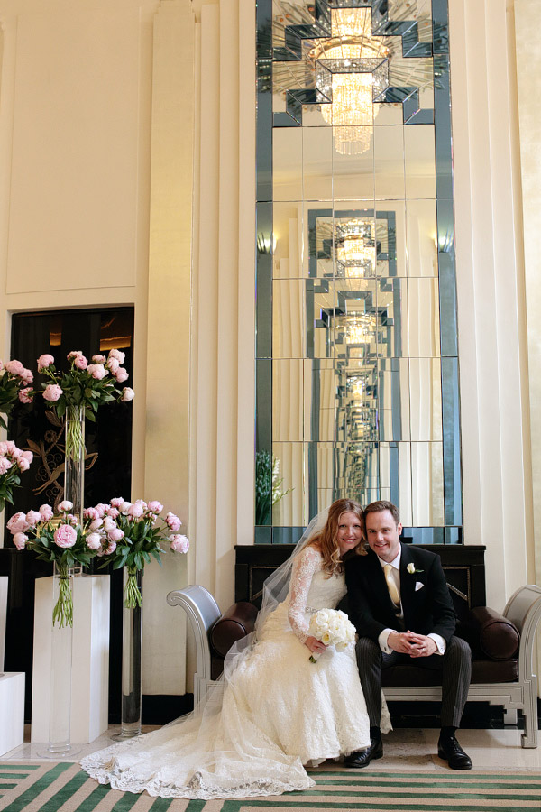 Claridge's Hotel wedding photographer