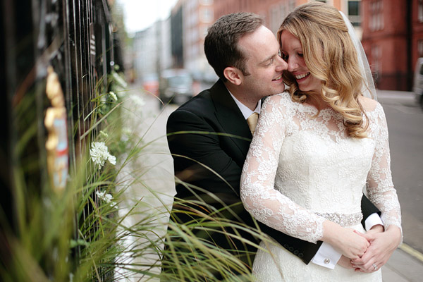 wedding photography in Claridge's Hotel