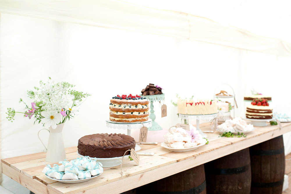 wedding cake table photo Ballathie Hotel Scotland