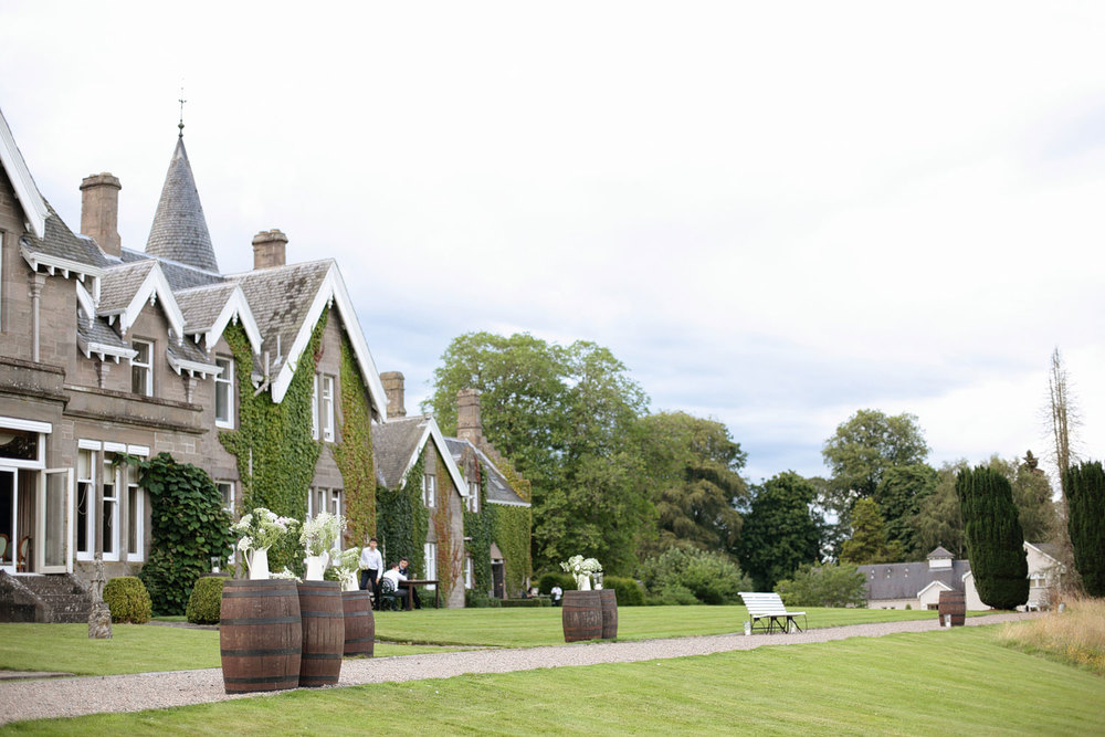Ballathie House Hotel wedding venue photo
