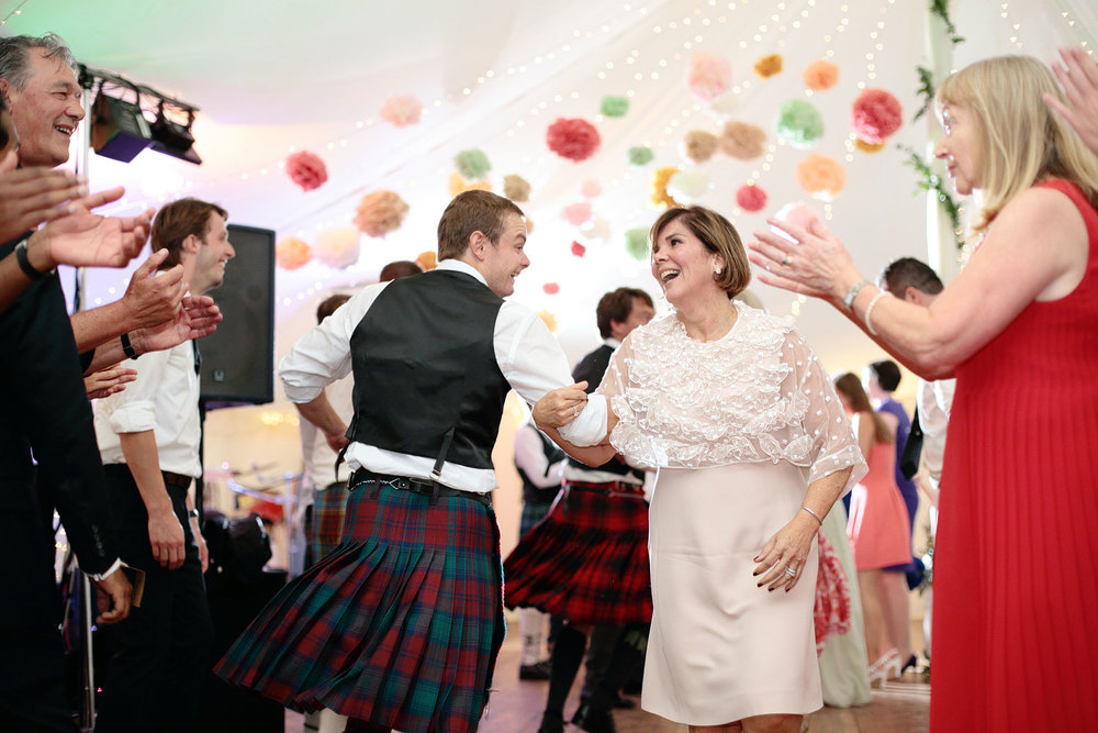 wedding ceilidh dance photo scotland
