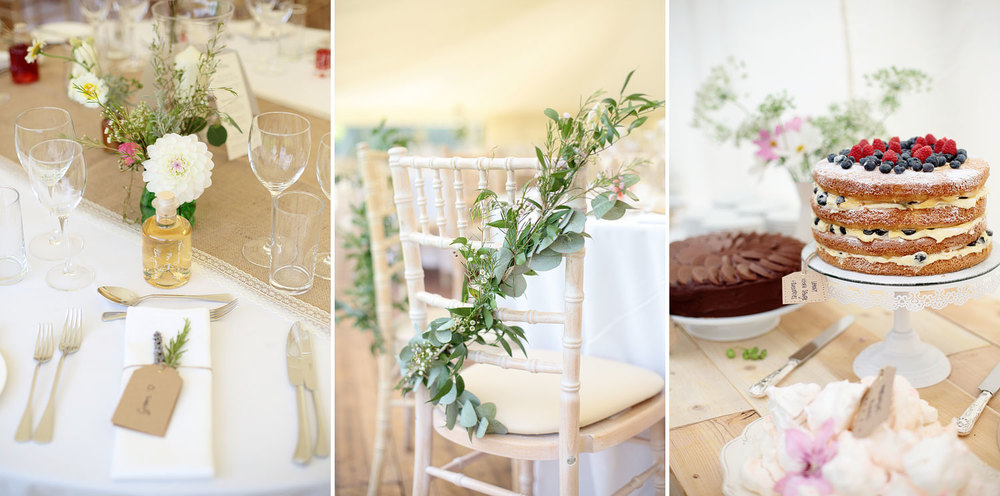 rustic wedding decor photo Scotland