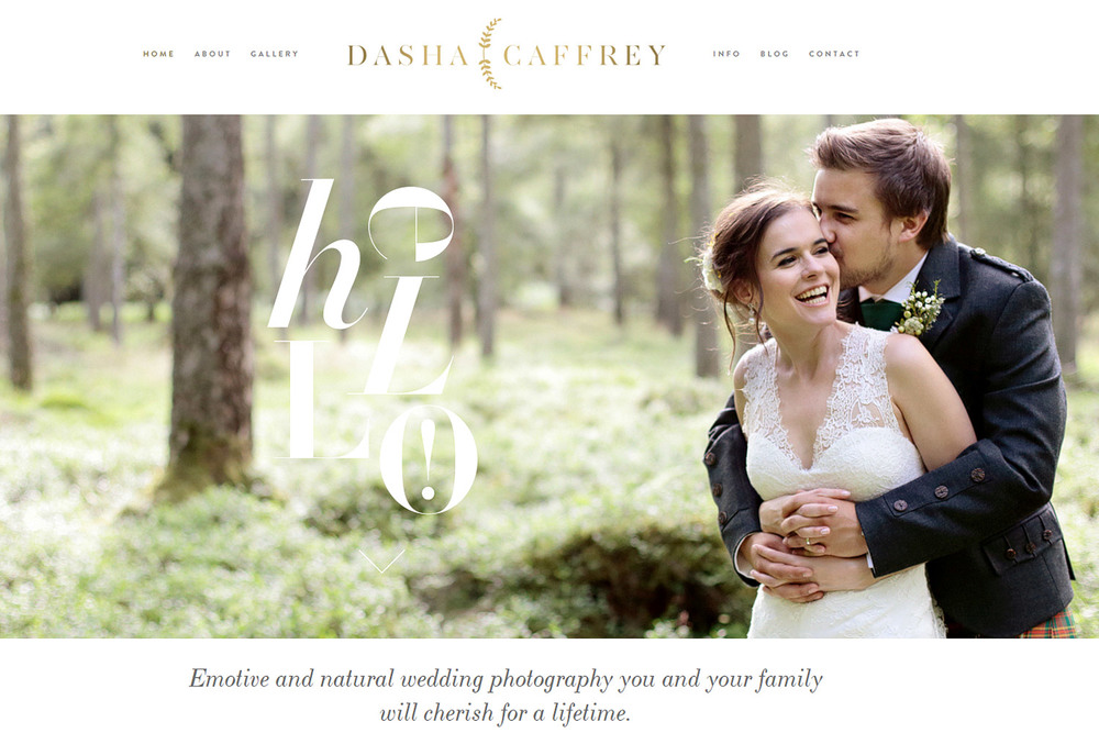 wedding photographer in Ireland Dasha Caffrey