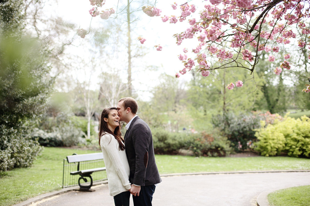 spring engagement in London