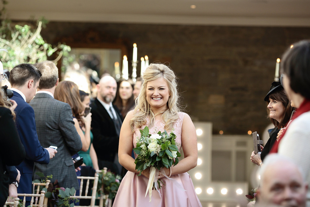 Tankardstown House wedding bridesmaid