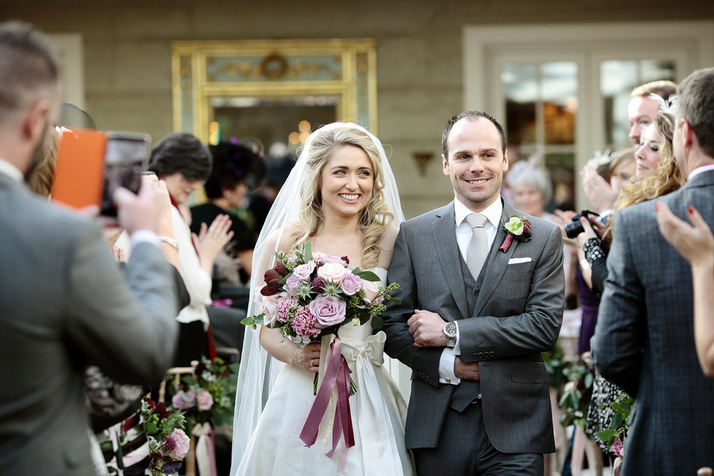 Tankardstown House wedding ceremony photo