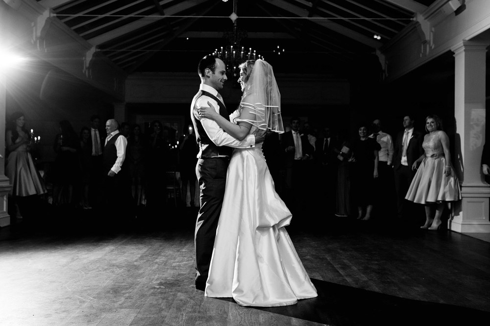 Tankardstown House wedding reception first dance