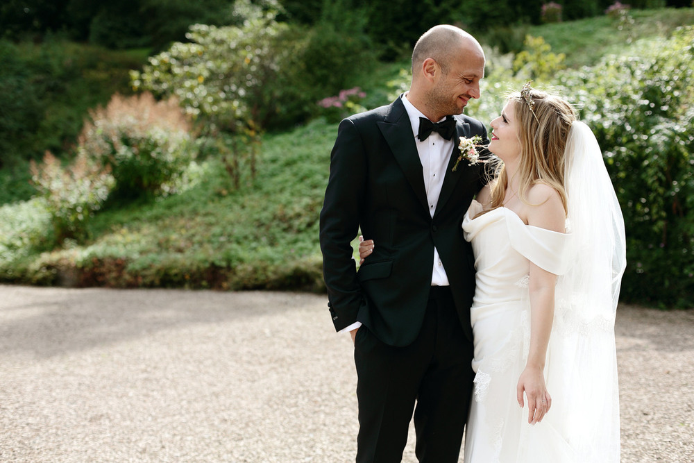 Eastnor Castle wedding venue photos
