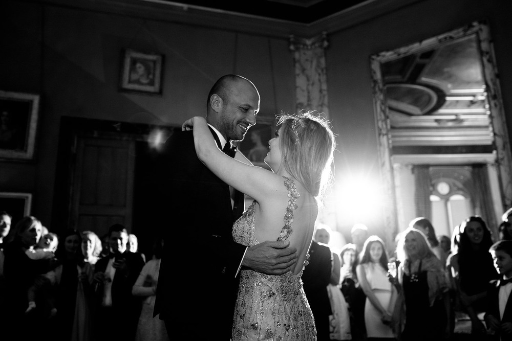 Eastnor Castle wedding first dance