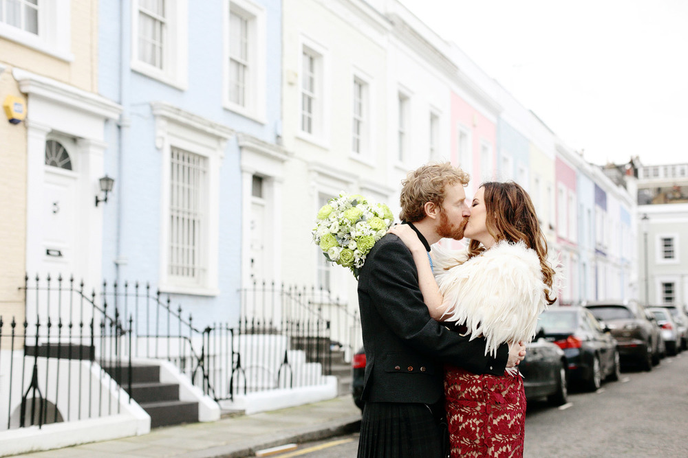 London wedding in Notting Hill