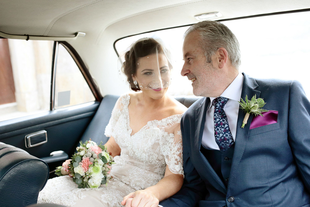 natural wedding photography in Ireland