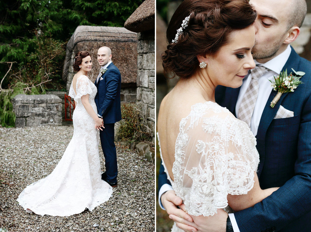 Irish castle wedding photos