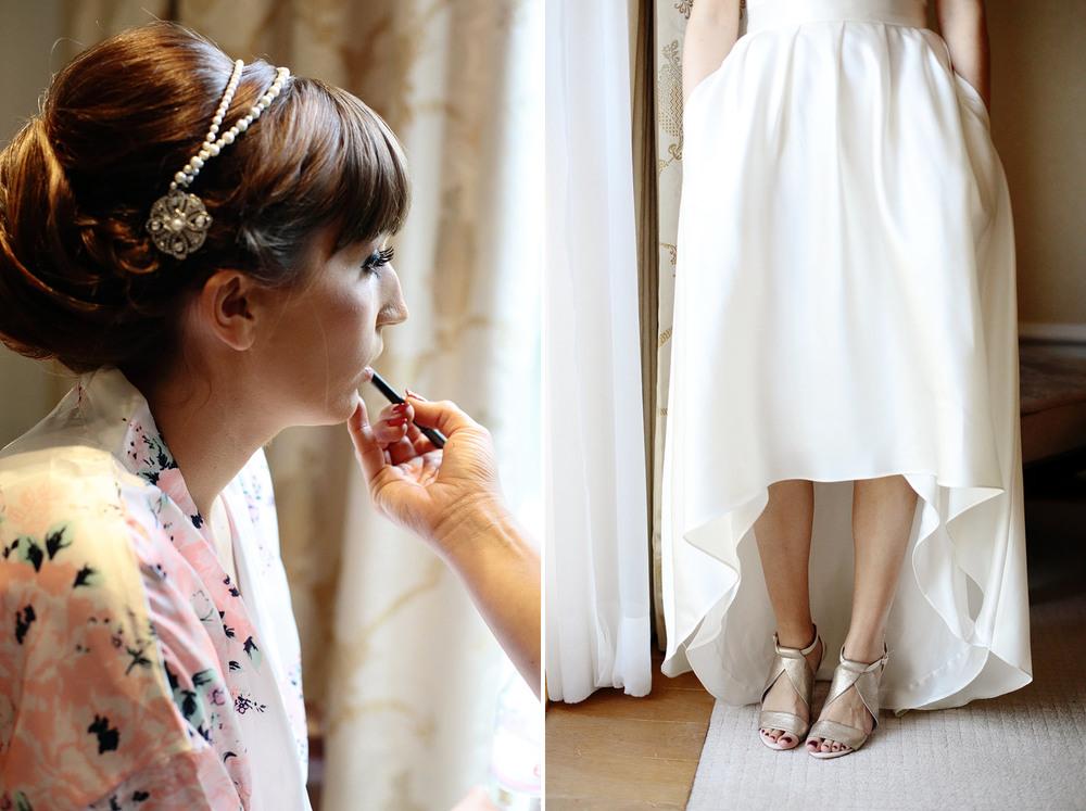 bride make-up photo Castlemartyr Resort Cork