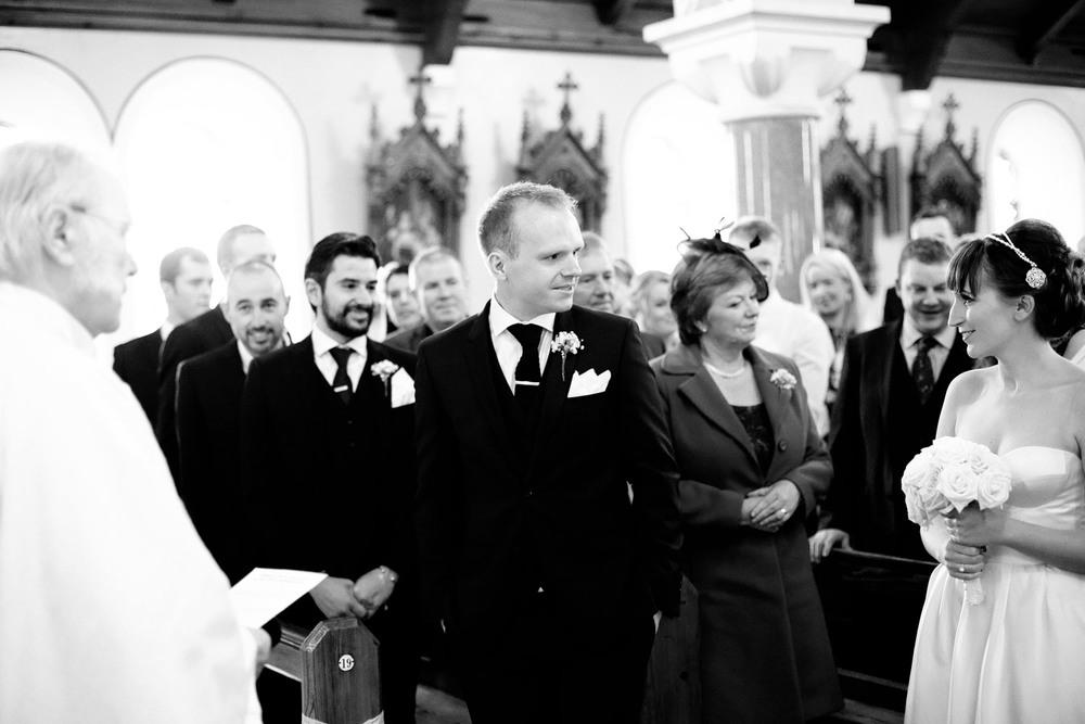 church wedding ceremony photo Castlemartyr Cork