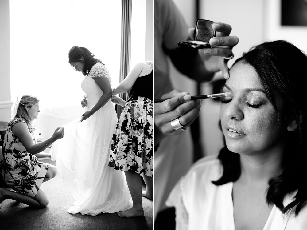 Bride make-up photo Sunbeam Studios London