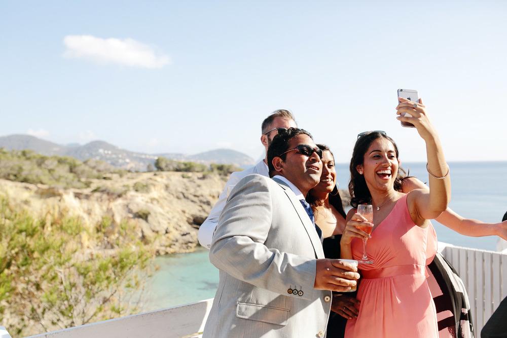 wedding photos at Elixir Shore Club Ibiza