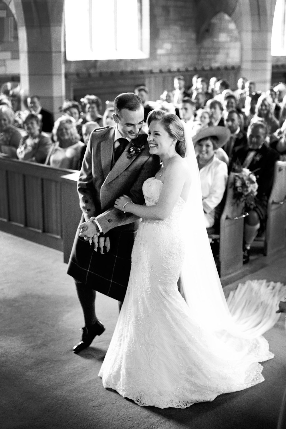 wedding ceremony, Scotland wedding photographer