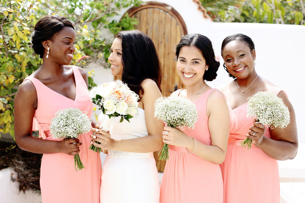 Bridesmaids photo Ibiza wedding