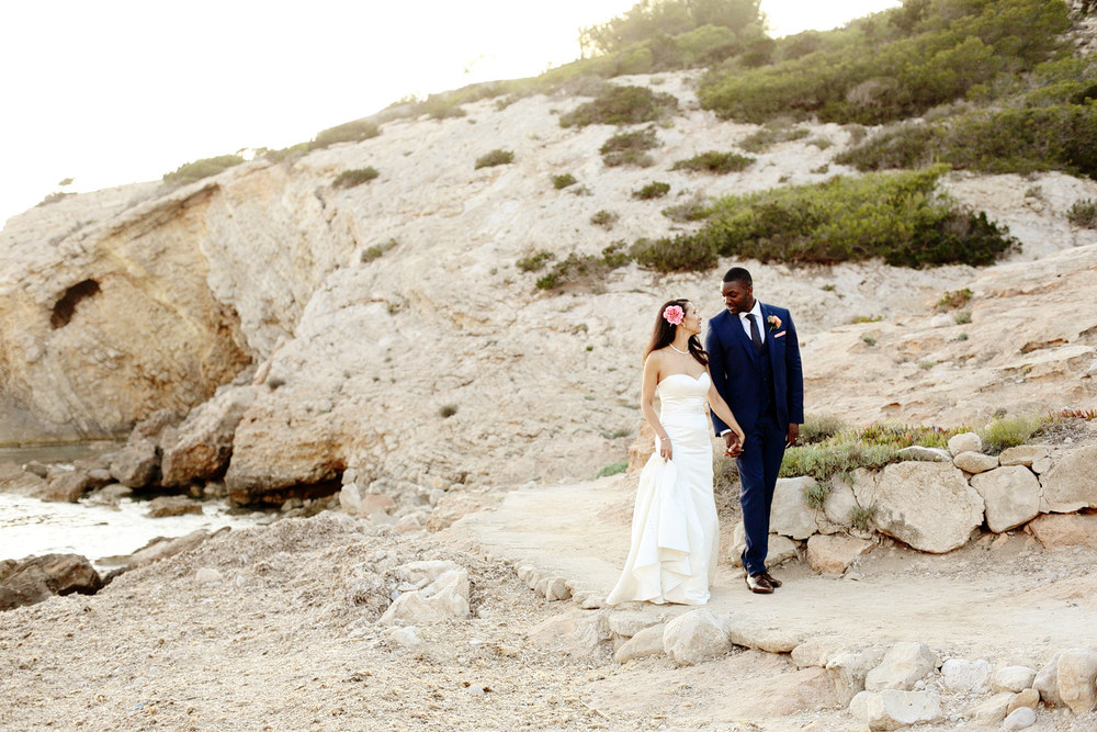 destination beach wedding in Ibiza