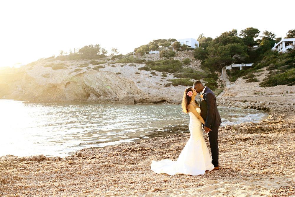 wedding beach photo Elixir Ibiza
