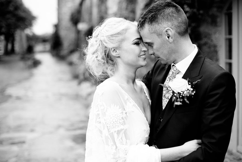 Ballymagarvey village wedding couples portrait