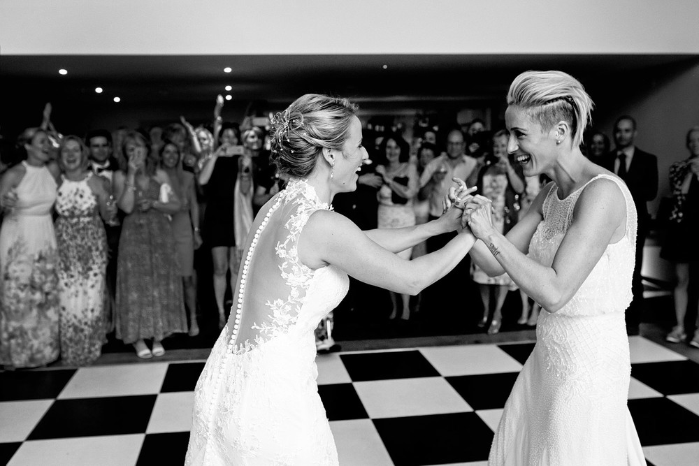 Millbridge Court first dance photo