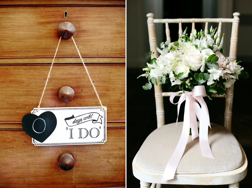 Bradbourne House wedding day details