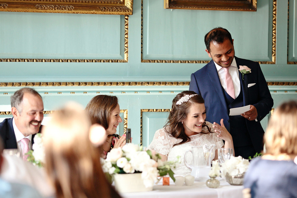 Bradbourne House natural wedding photography