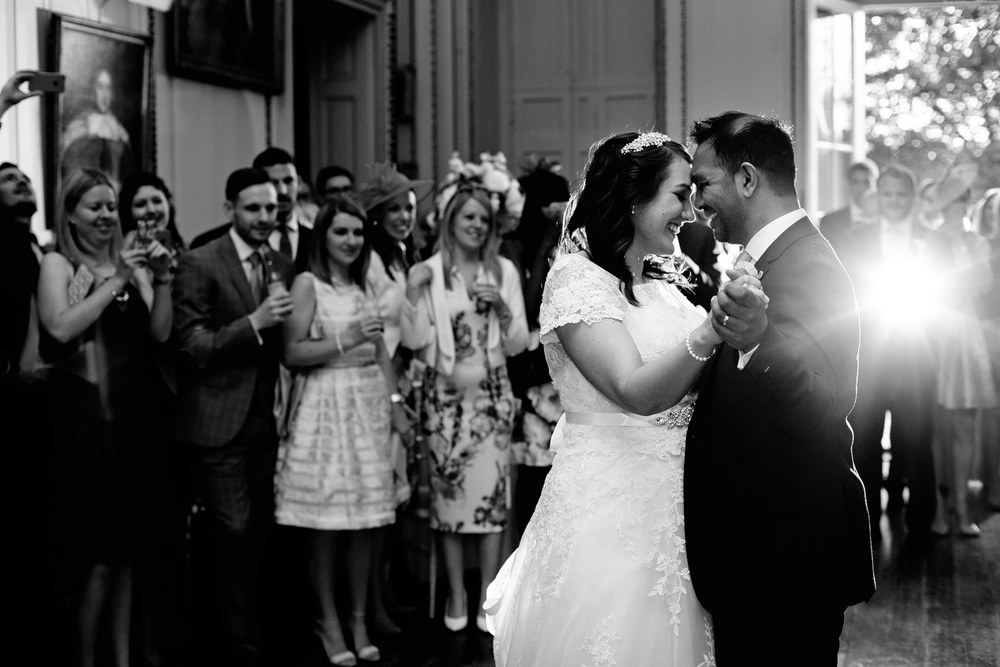 Bradbourne House first dance wedding photo
