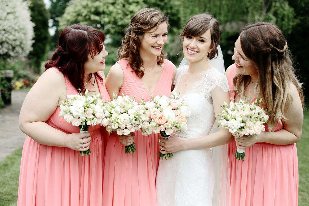 South Farm wedding bridesmaids photo