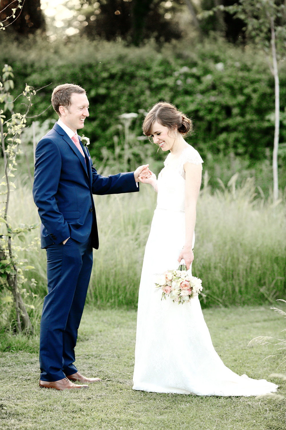 South Farm wedding romantic couple photo