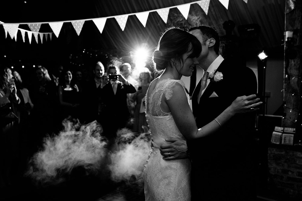 South Farm wedding first dance photo