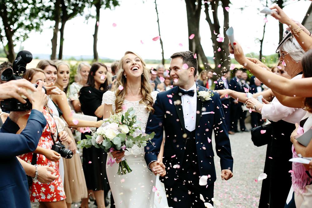 Tinakilly House wedding confetti photo.jpg