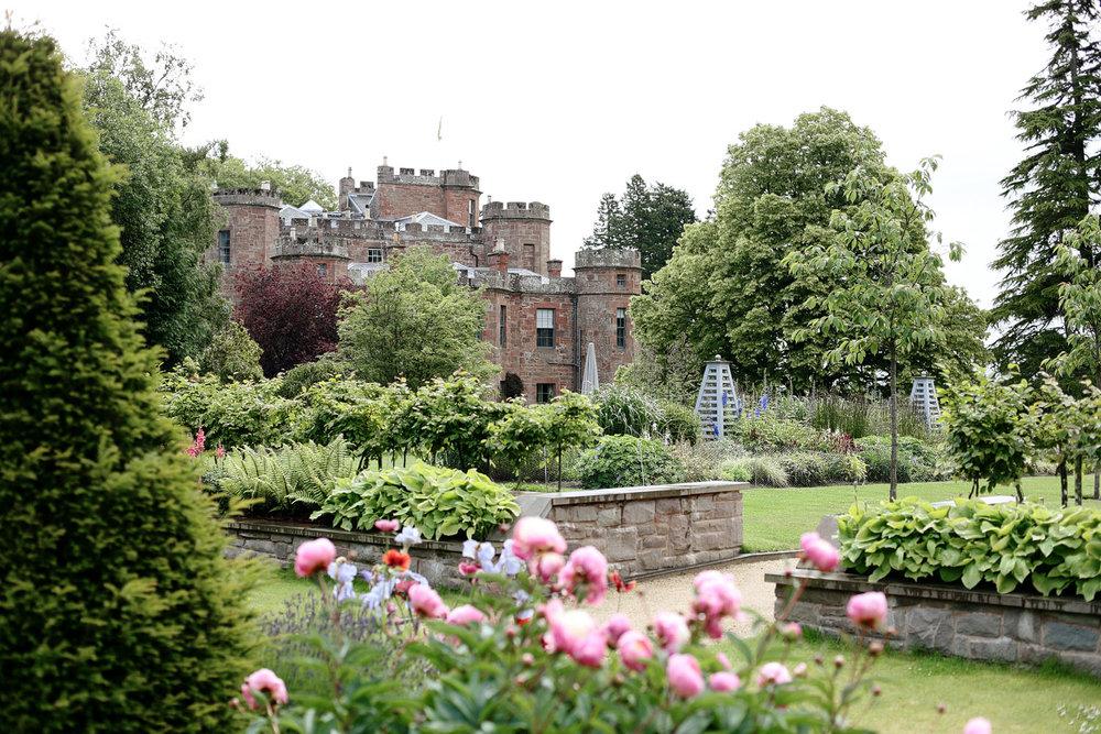 castle wedding venue in Scotland