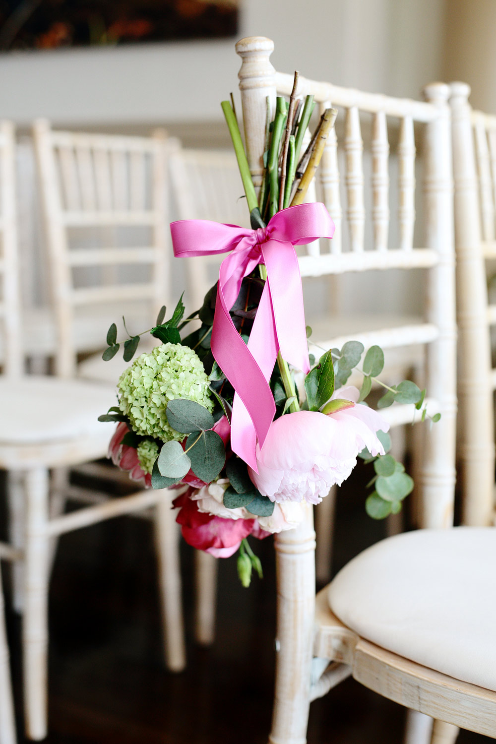Fasque House wedding flower decor