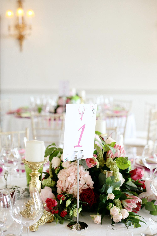 Fasque House colour table setting photo