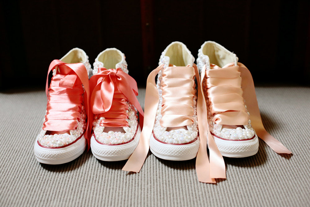bespoke wedding converse photo
