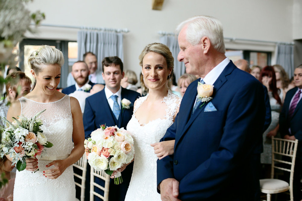 millbridge court wedding ceremony photo