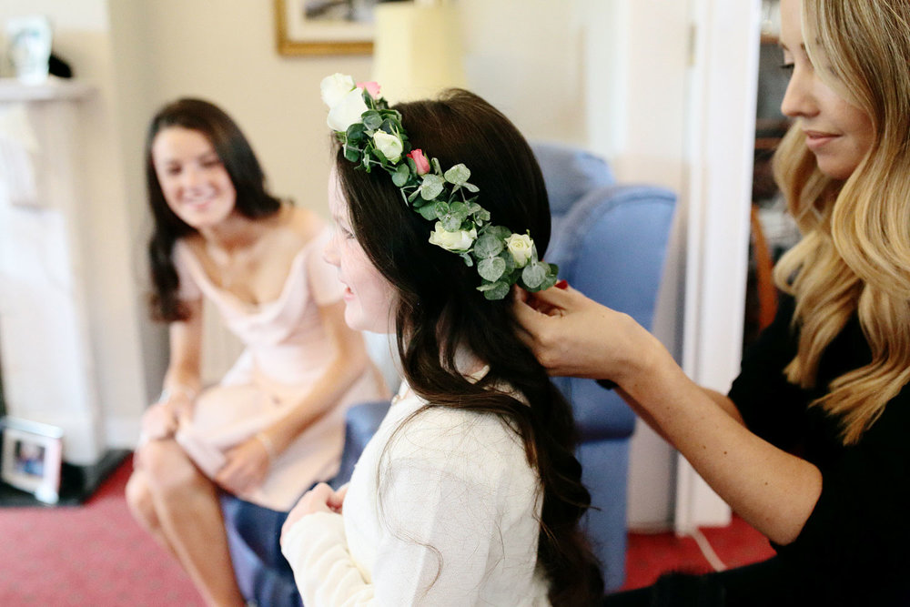 Joanne Kelly wedding hair stylist photo