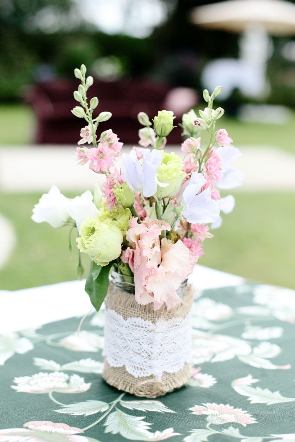 tinakilly house wedding flowers photo