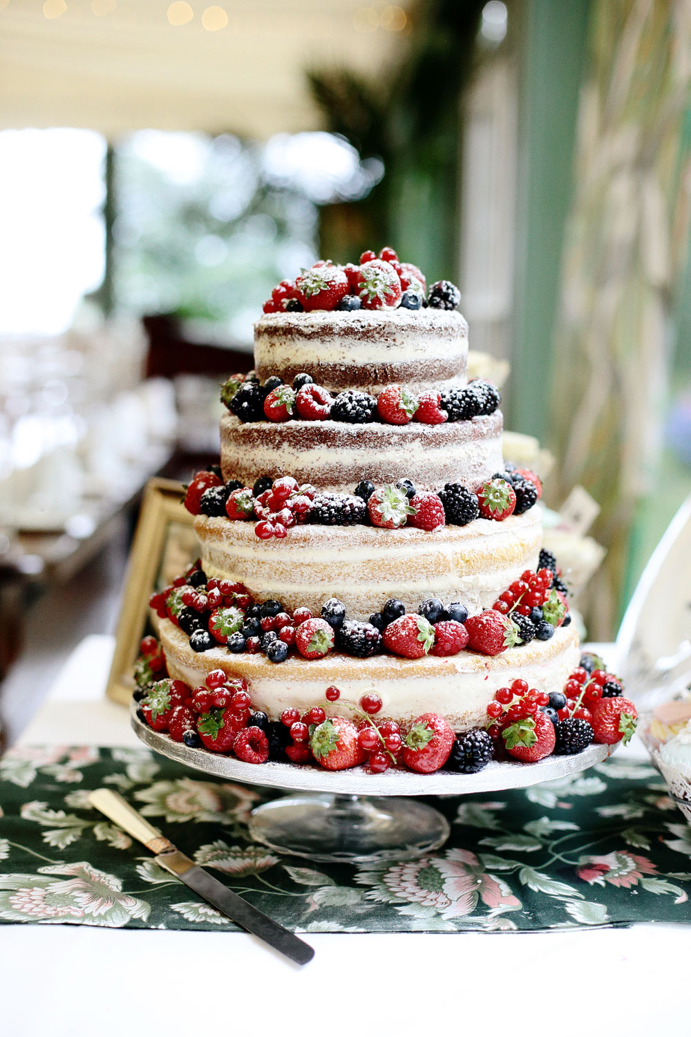 tinakilly house naked wedding cake photo