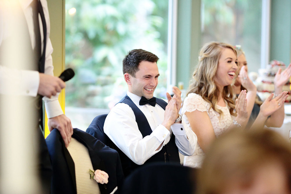 tinakilly house wedding speeches photo