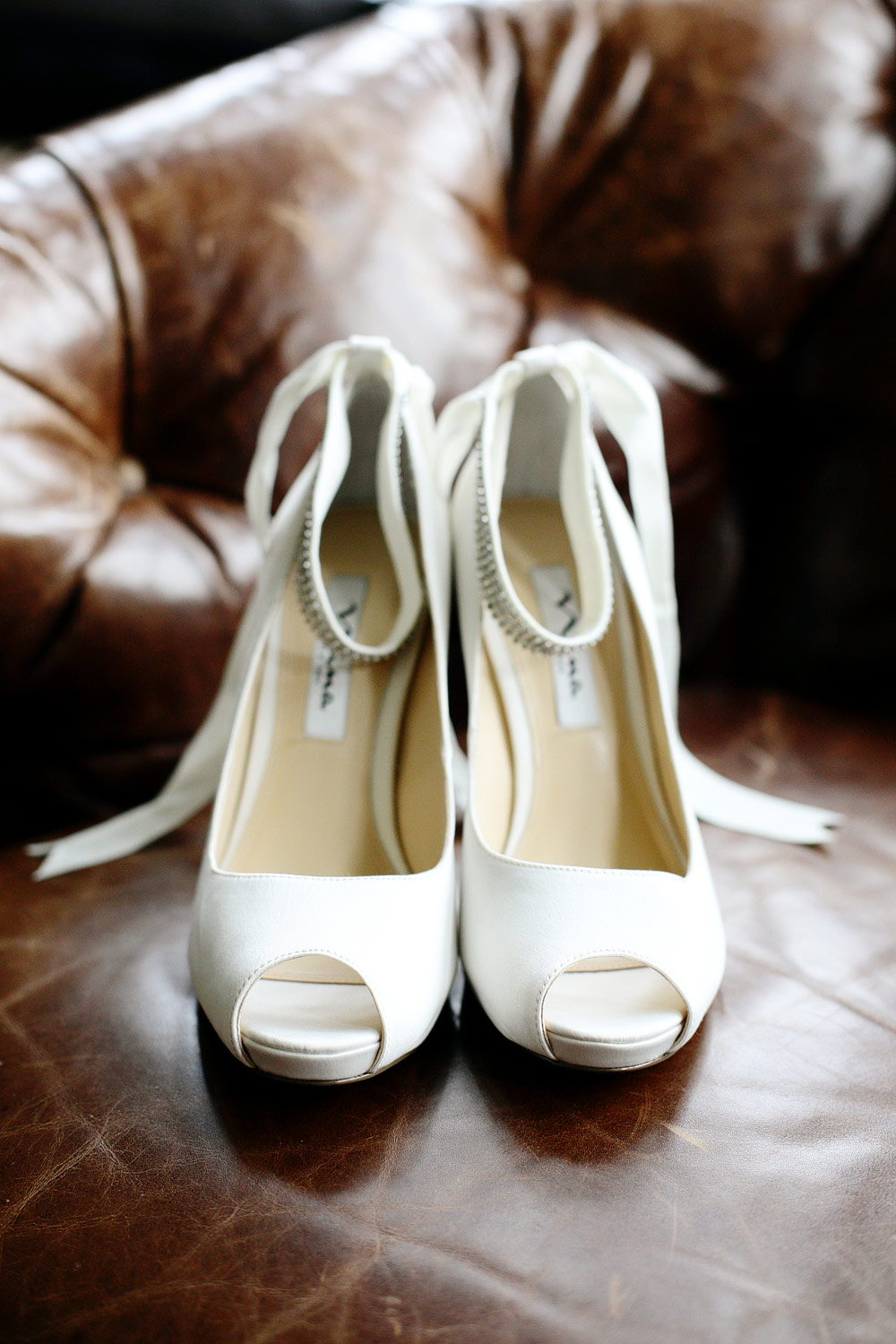 wedding shoes photo at trump doonbeg resort clare ireland