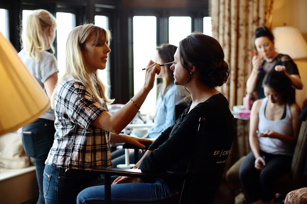 bridal preparations at trump international doonbeg ireland
