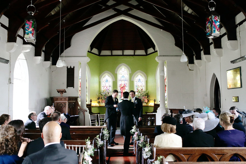 wedding ceremony photo at trump doonbeg ireland