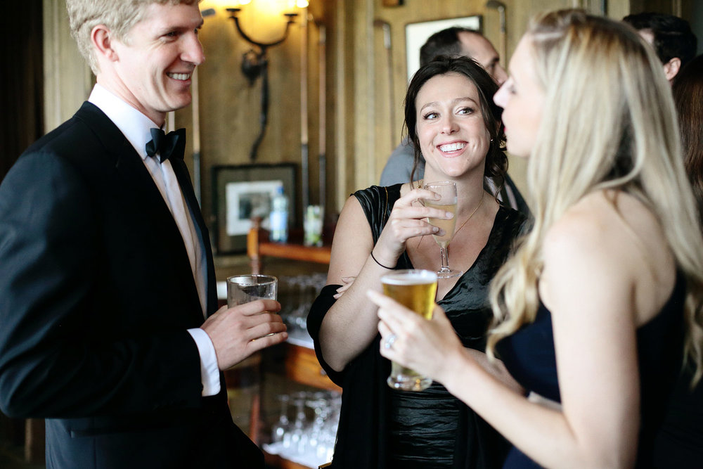 wedding reception at doonbeg lodge photo ireland